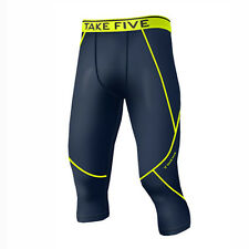 Take Five Mens Skin Tight Compression Base Layer Running Pants Leggings NP521