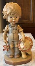 Anri Wood Carved Figurine