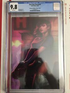 Zero Day Threat #1 Sun Khamunaki Virgin Limited to 100 copies. SOLD OUT!! RARE
