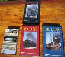 4 Videos Sou Railway Ns Chessie System C&O N&W Steam Excursion Acl Sal