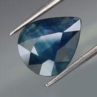 3.13Ct.Ravishing Color! Natural BIG Blue Normal Heated Sapphire Madagascar