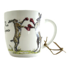 Queens Country Pursuits The Boxers 300ml Olive Mug