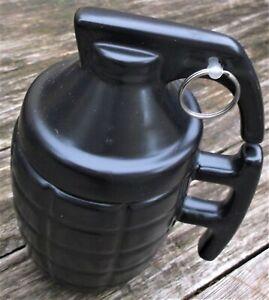 Mug Ceramic grenade 3d novelty funny coffee kitchen retro garage cafe cup