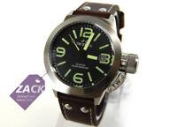 TW STEEL CS21 Canteen Leather Herren Uhr Armbanduhr, Leder braun