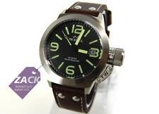 TW Steel cs21 Canteen Leather señores reloj reloj de pulsera, cuero marrón