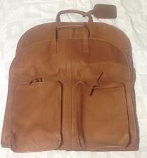 Clava Leather Garmet Bag, 20.5 x 21 x 1.75, One Night Suiter