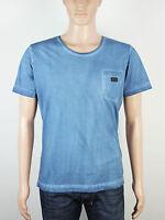 NEW Diesel mens Size XS S M L XL XXL blue crew neck t shirt