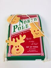 Williams Sonoma Kitchen North Pole Pancakes 3pc. Mold Set Elf Snowman Reindeer