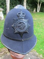 More details for somerset + bath constabulary police helmet night plate short lived 1967-1974 ex