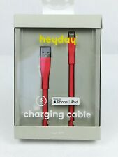 iPad iPhone Charging Cable fusia Pink Color. 3 Foot. Lighting to usb