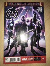 Avengers 35 NM+ CGC it! KEY 1st Sam Wilson as Captain America cover Hickman 2014