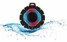 Tragbar Bluetooth Lautsprecher Duschlautsprecher Wasserdicht Bad Wireless LED