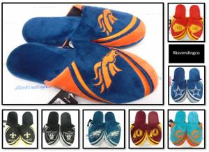 NFL Men's Tonal Big Logo Slide Slippers House Shoes