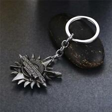 Game of Thrones GOT House Martell 3D Silver Metal Keychain Keyring key chain