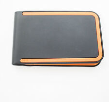 Dosh Luxe Mens Wallet 3 Card Turismo Wallet Charcoal Grey