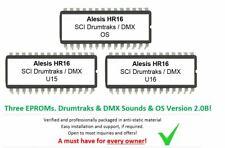 Alesis HR16 - Soundchip Upgrade incl SCI Drumtraks & Oberheim DMX sounds