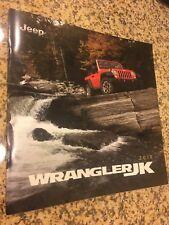 2018 JEEP WRANGLER JK 24-page Original Sales Brochure