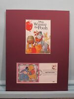 Walt Disney's - Winnie the Pooh, Eyeore, Piglet  & Tigger and First Day Cover