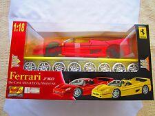 Ferrari F50 Die Cast Metal Body Model Kit 1: 18 New in Box Bonus Custom Wheels