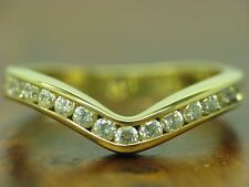 18kt 750 Yellow Gold Ring with 0,45ct Diamond Decorations/3,0g/ Rg 55