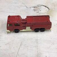 vintage diecast Tootsie Toy firetruck
