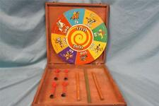 Really Cool Vintage Wild West Cowboy Dart Toss Game! Daniel Boone, Geronimo