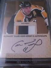 Cam Neely 2004-05 ITG Ultimate Mem Jersey Auto Gold /10 Bruins