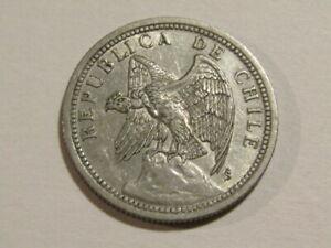 Chile 1933-So 1 Un Peso Coin