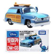 TAKARA TOMY TOMICA Disney Motors DM-03 Lagoon Wagon Stitchi Japan Diecast Toy Ca