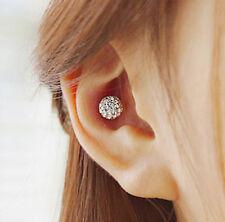 Disco Ball Stud Earrings, glitter ball stud earrings, Crystal earrings, 7mm ball