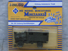 Roco Minitanks (New) Modern West German Unimog Ambulance Truck Lot #1813