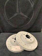 Genuine Mercedes-Benz W204 C-Class C180 C200 FRONT Brake Discs A000421191207