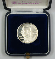 1988 Israel Anne Frank Silver Medal Remember the Holocaust with COA (2)