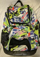 SPEEDO Teamster 35L Multi-Color Geometric Print Swimming Backpack