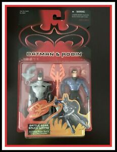 Batman & Robin _ Battle Gear Bruce Wayne / Batman _ (MOC)