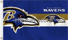 Baltimore Ravens Flag Banner New Large 3 X 5 Indoor Outdoor 2 Rings Nice Quality