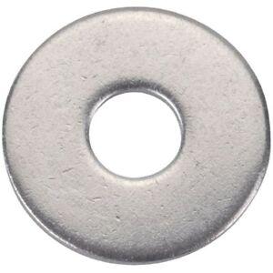 Rondelle plate large inox boulonnerie marque Acton vendu x10 plusieurs diamètres