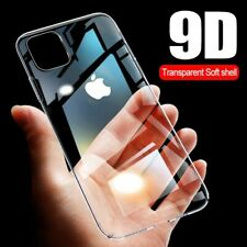 iPhone Transparent Case Cover 9D TPU Thin Protective Luxury 11 Pro Max X XS XR