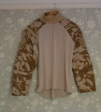 GENUINE BRITISH ARMY DESERT UNDER BODY ARMOUR COMBAT SHIRT (UBACS) NEW !!!