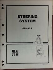 Hyster Steering System J25-35A 1600 SRM 241