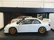 AUTOart 1:18 Subaru Impreza WRC 2003 Plain Body White (AA80392)