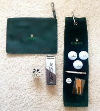 Rolex Golf Set Zubehör Geschenk Gift Rolex Novelty Golf Goods