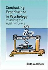 Conducting Experiments in Psychology: Measuring the Weight of Smoke/With