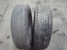225 75 r 15 102t general grabber m&s tyres x2    5mm