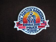 Police Kissimmee Florida Iron On or Sew On Patch *NEW*