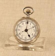 935 Silber DOKTOR Taschenuhr Uhr silver pocket watch Uhren handaufzug antik 掛表