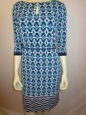 LIZ CLAIRBORNE 3/4 SLEEVE KNIT DRESS  NEW WITH TAG