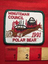 1991 Polar Bear Minuteman Council Boy Scout Patch BSA 79V5
