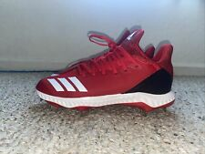 Adidas Men's Baseball Icon Bounce Cleats - Red /Cg5245 Sz 7.5