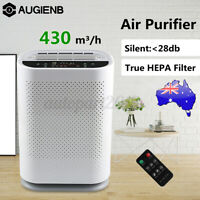 Portable Air Purifier Negative Ion Air Cleaner Odor 550m3/h Freshener Smoke
